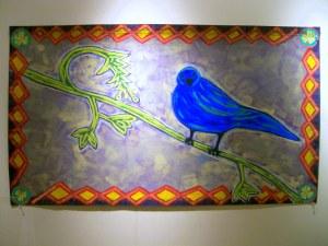 Blue Bird of Joy