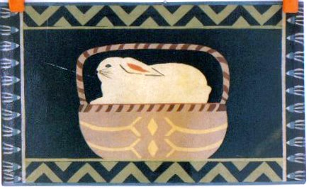 Rabbit in my basket